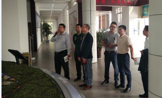 我系赖东寅副主任前往前往隆昌国家级科技企业孵化器进行调研